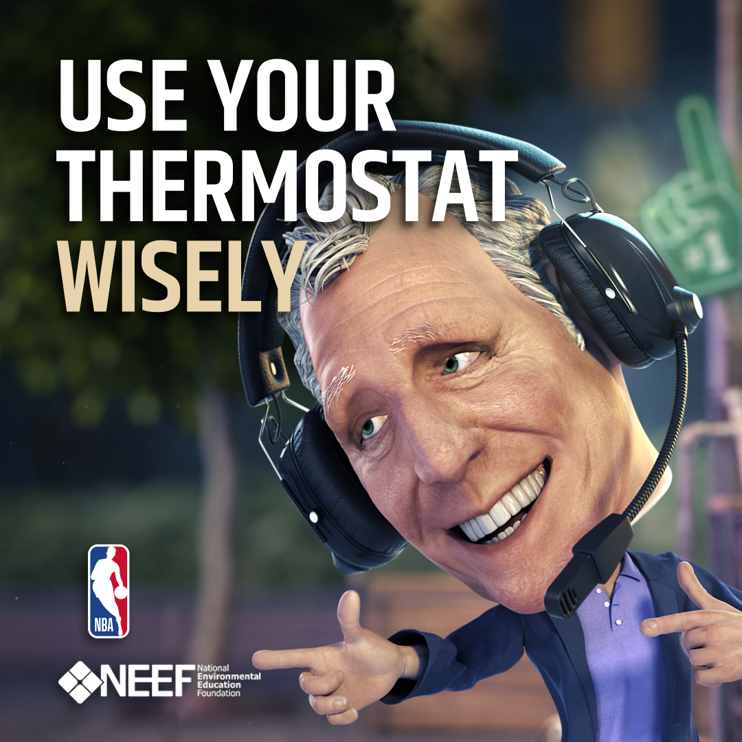 Bill Walton: Use Your Thermostat Wisely