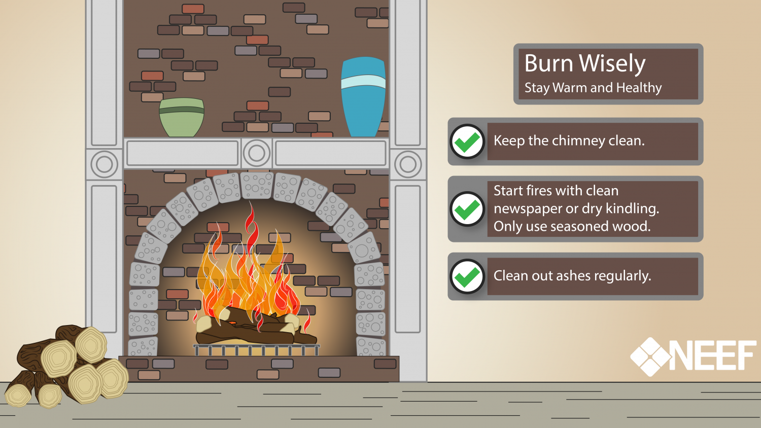 Burn wisely infographic
