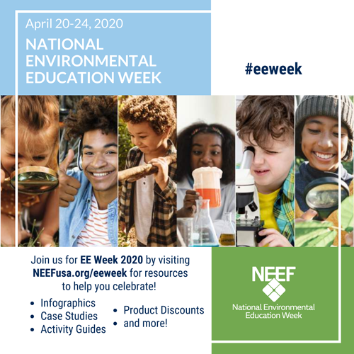 NEEF's National Environmental Education Week alternative square graphic