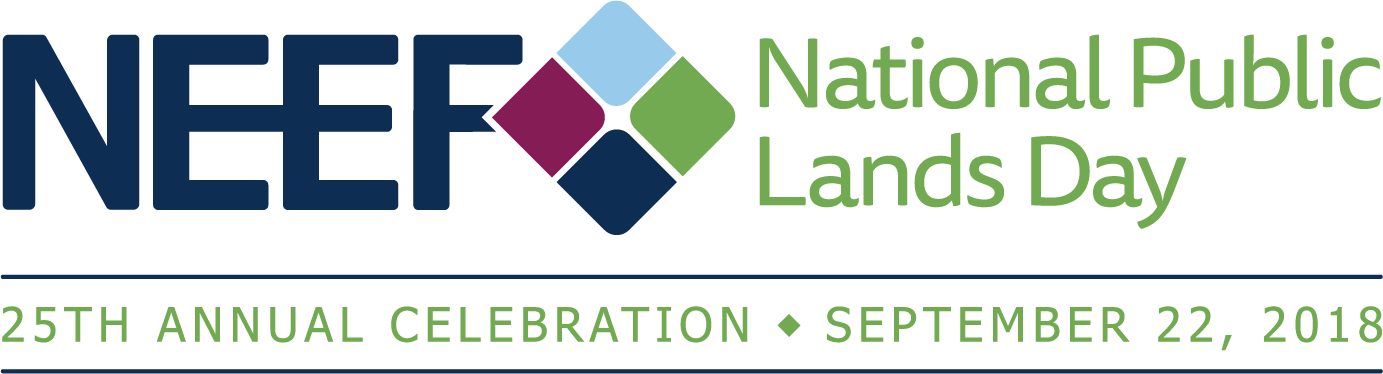 NEEF National Public Lands Day 25th Annual Celebration September 22, 2018