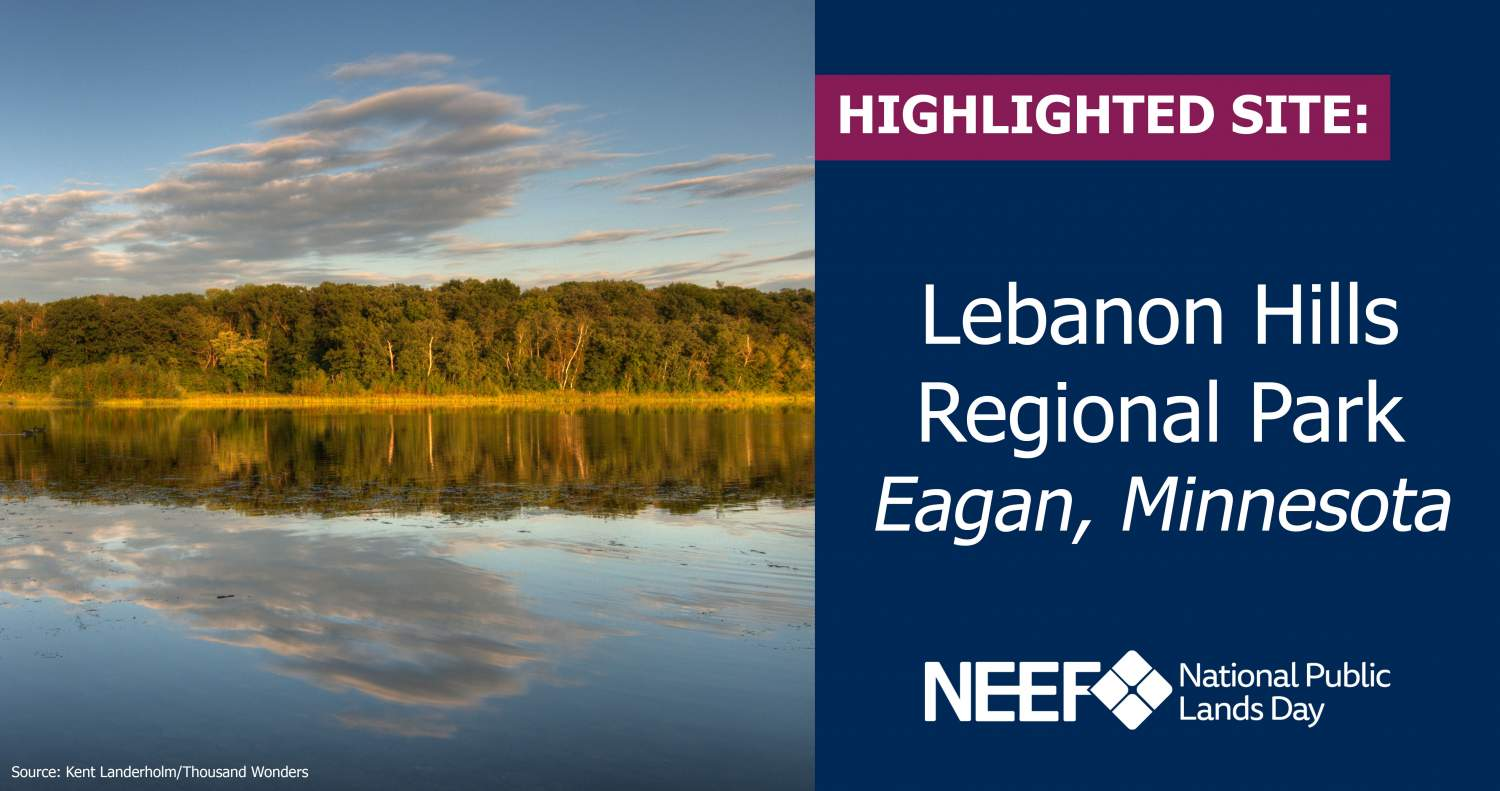 NPLD Highlighted Site: Lebanon Hills Regional Park - Eagan, Minnesota