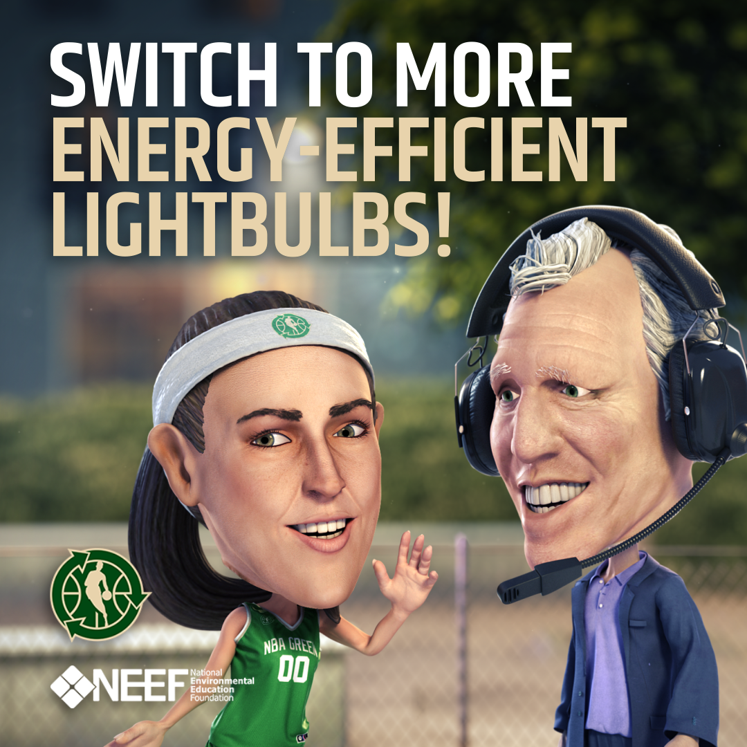 Ruth Riley: Switch to More Energy-Efficient Lightbulbs