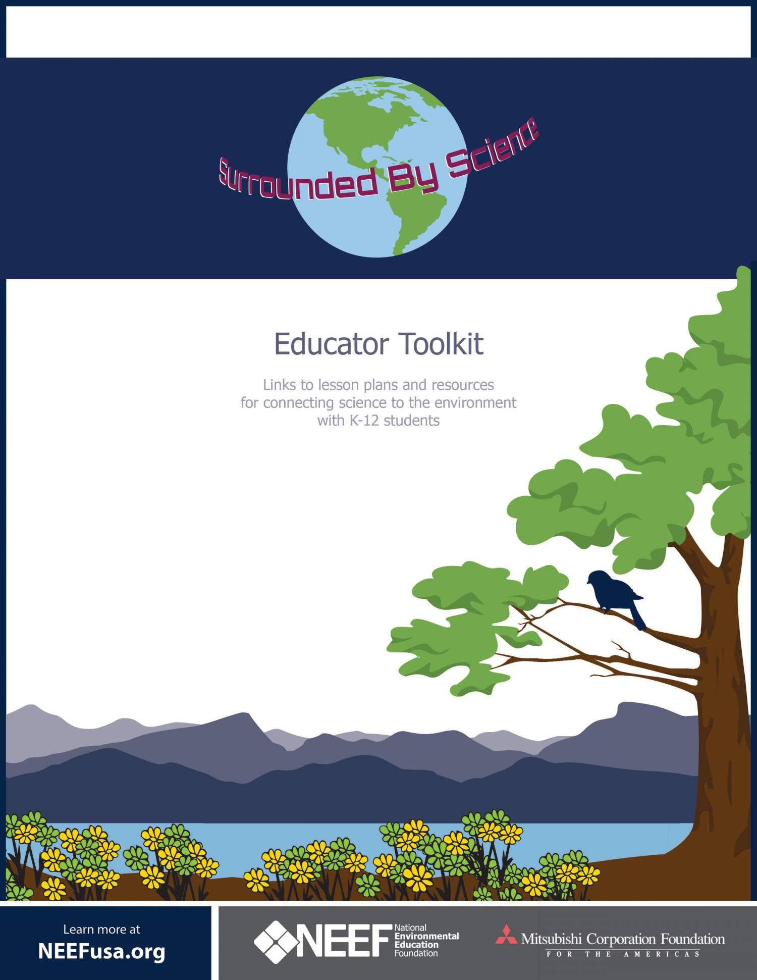 surrounded by science educator toolkit cover