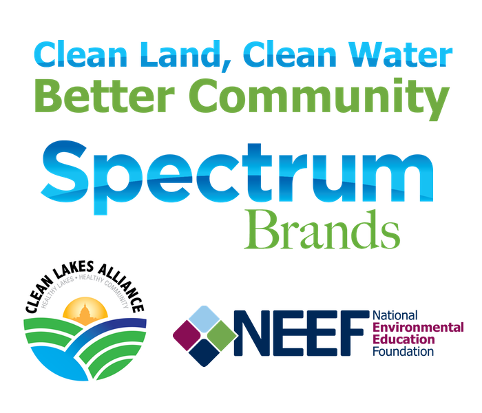 Clean Land, Clean Water, Better Community: Spectrum Brands|Clean Lakes Alliance|NEEF