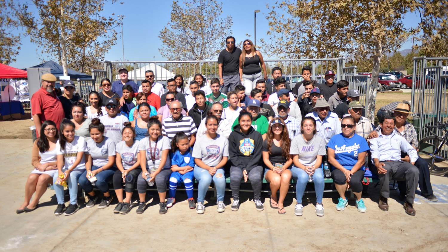 Group picture of the volunteers at The City Project NPLD Event in LA