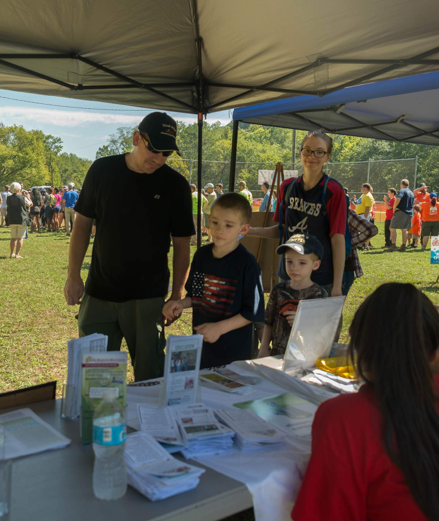 Family activities at Great Lake Allatoona Clean Up