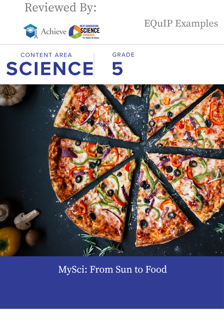 MySci: From Sun to Food