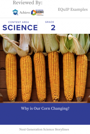 Why is Our Corn Changing?