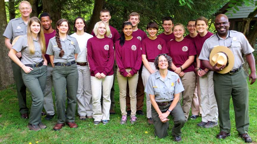 Susan Sachs with the Friends of the Smokeys Group