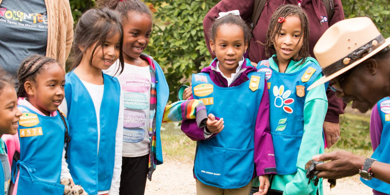 Environmental Education activity with Girl Scouts