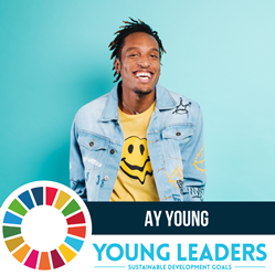 AY Young United Nations advocate for global energy sustainability.