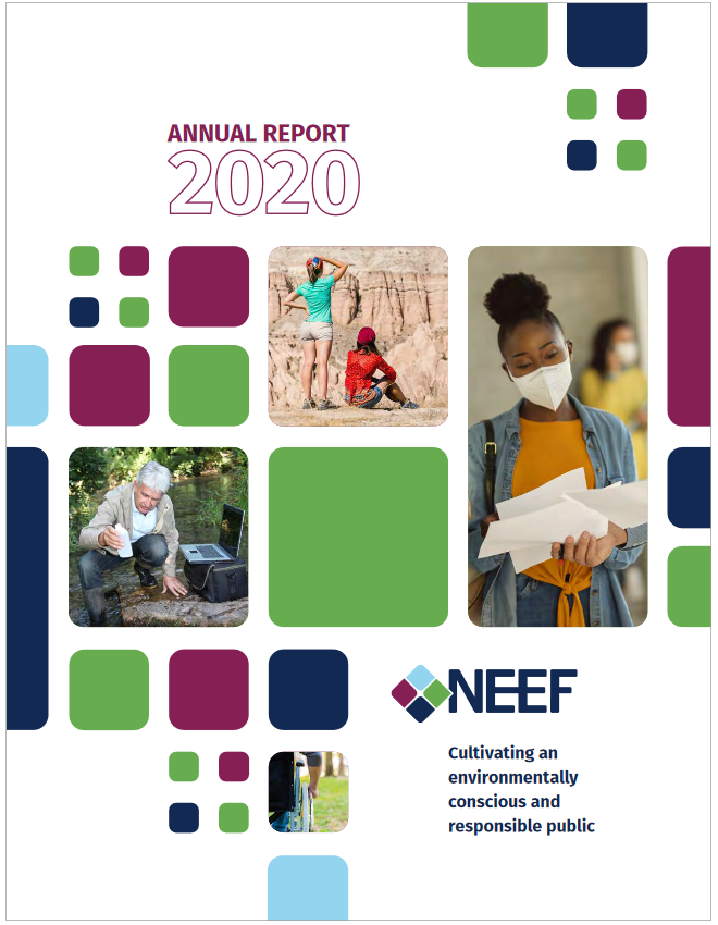 NEEF FY2020 Annual Report Cover