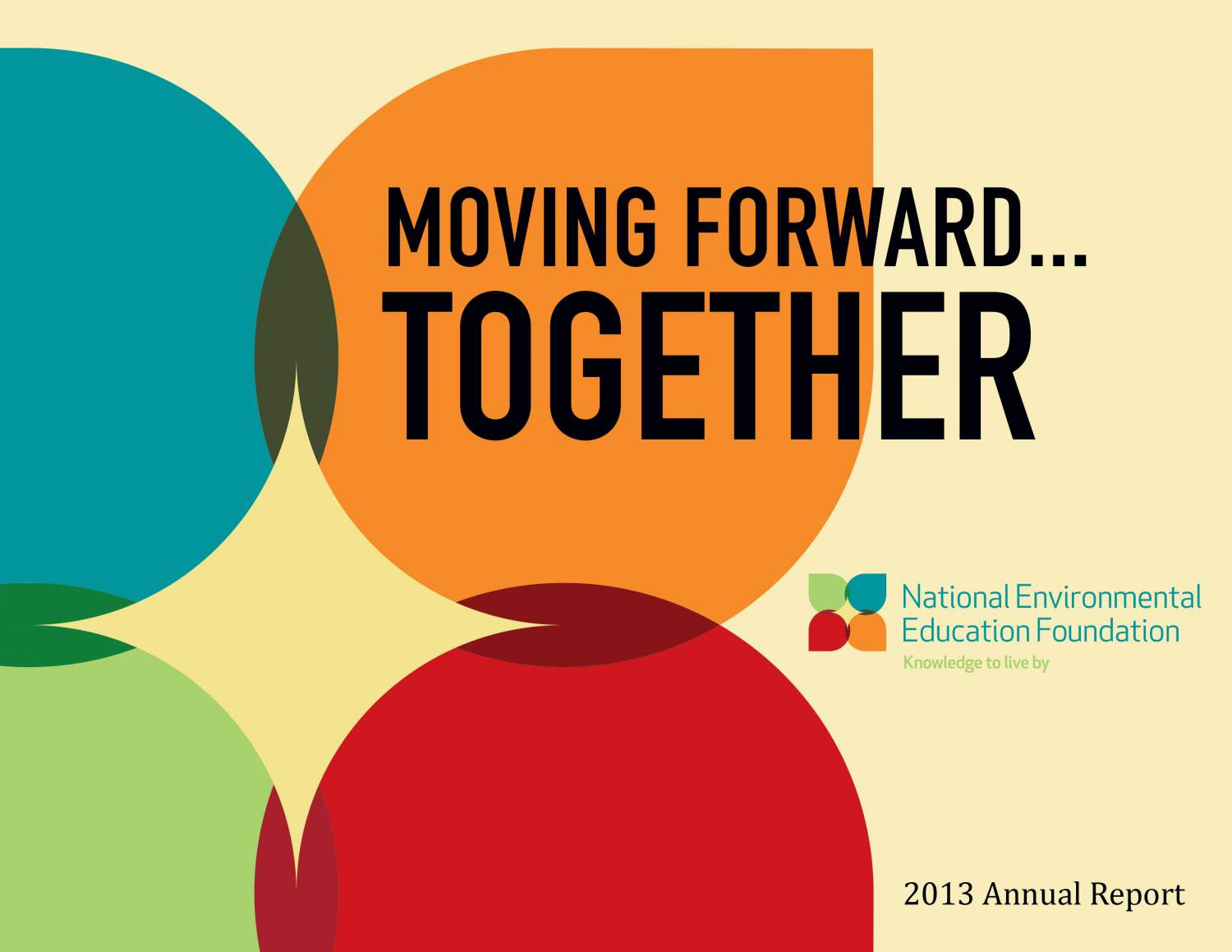 Moving Forward...Together - The NEEF Annual Report 2013
