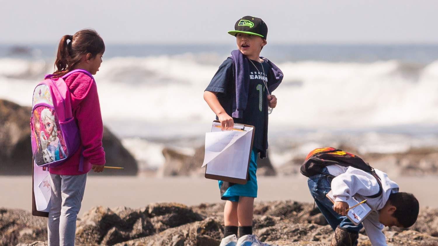Citizen Science: Kids at Olympic National Park