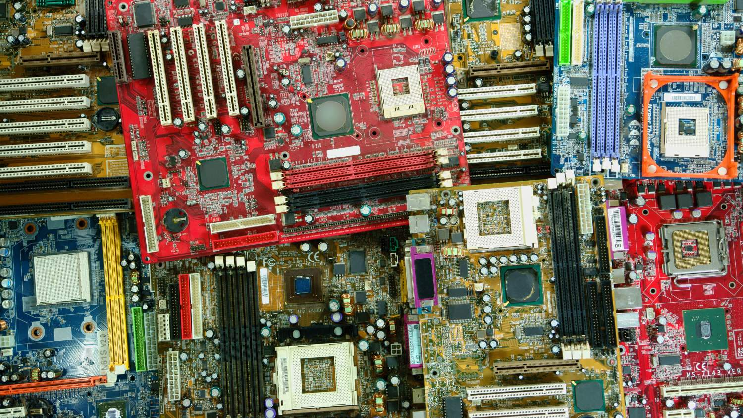 Recycling motherboards