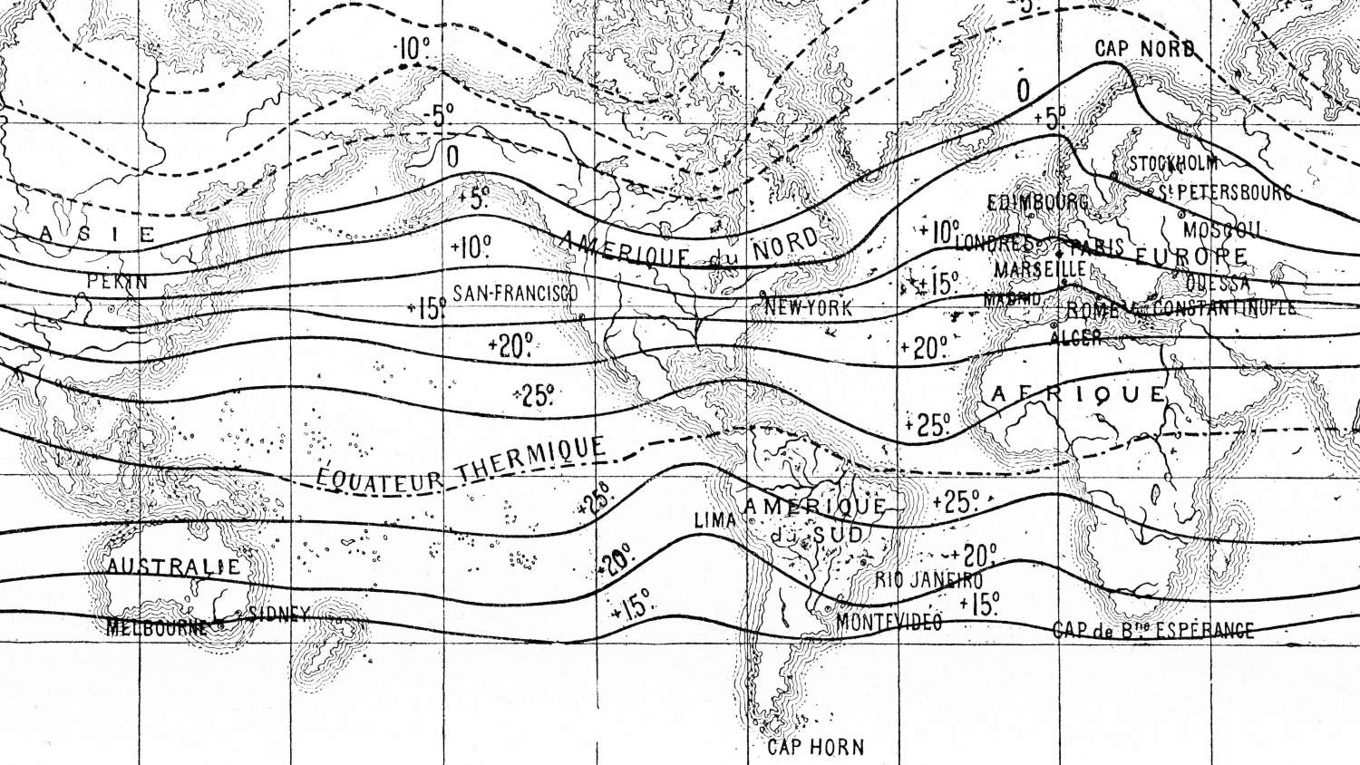 Old weather map