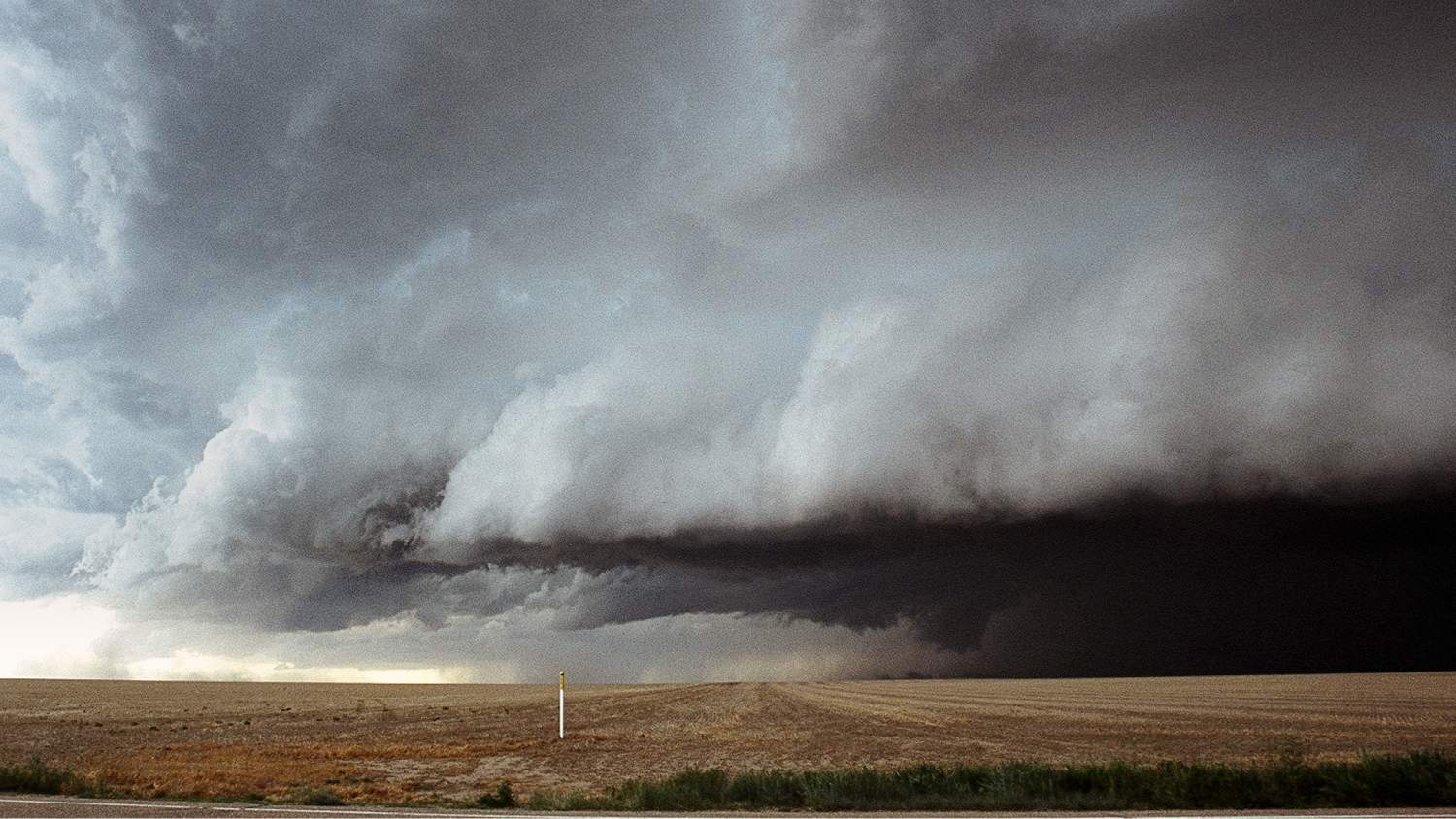 Tornado in the plains