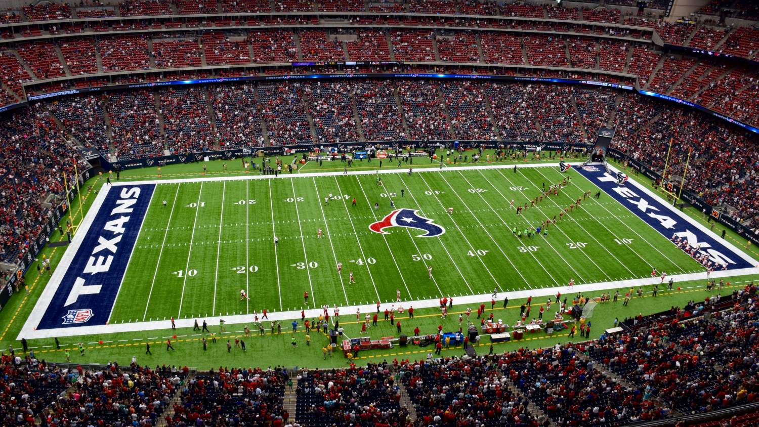 NRG Stadium, Houston Texas, Texans Field