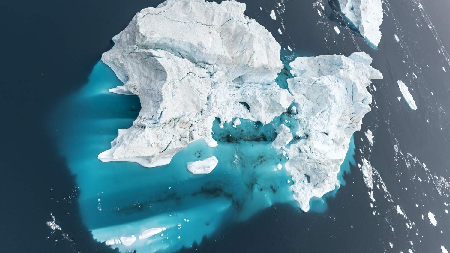 View of an iceburg