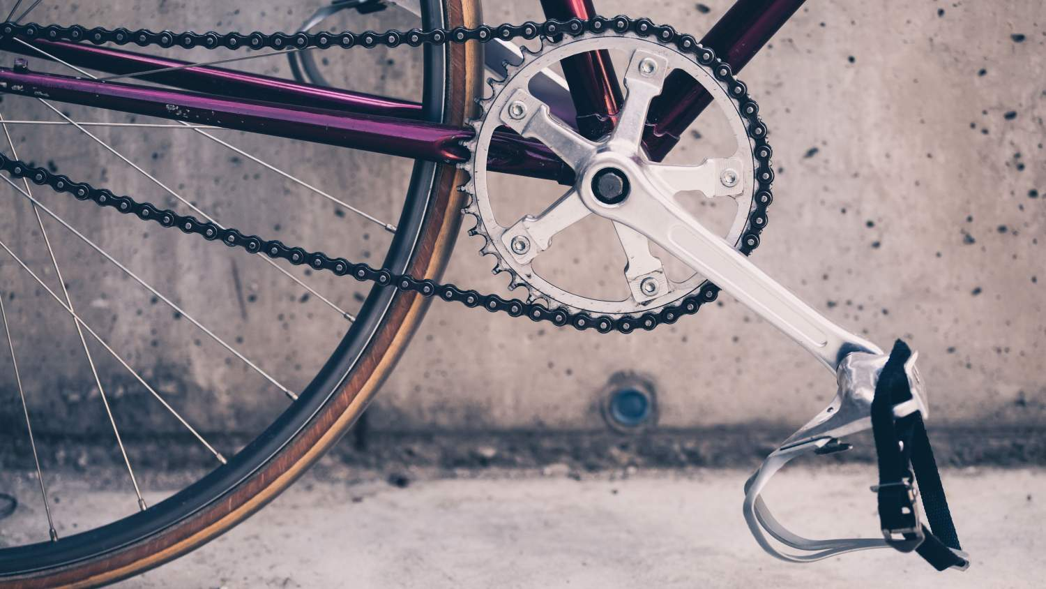 Close-up of a bicycle