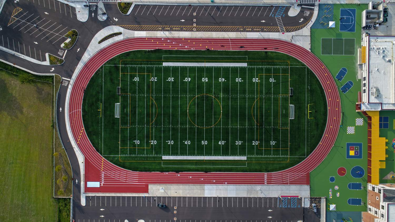Multipurpose football field