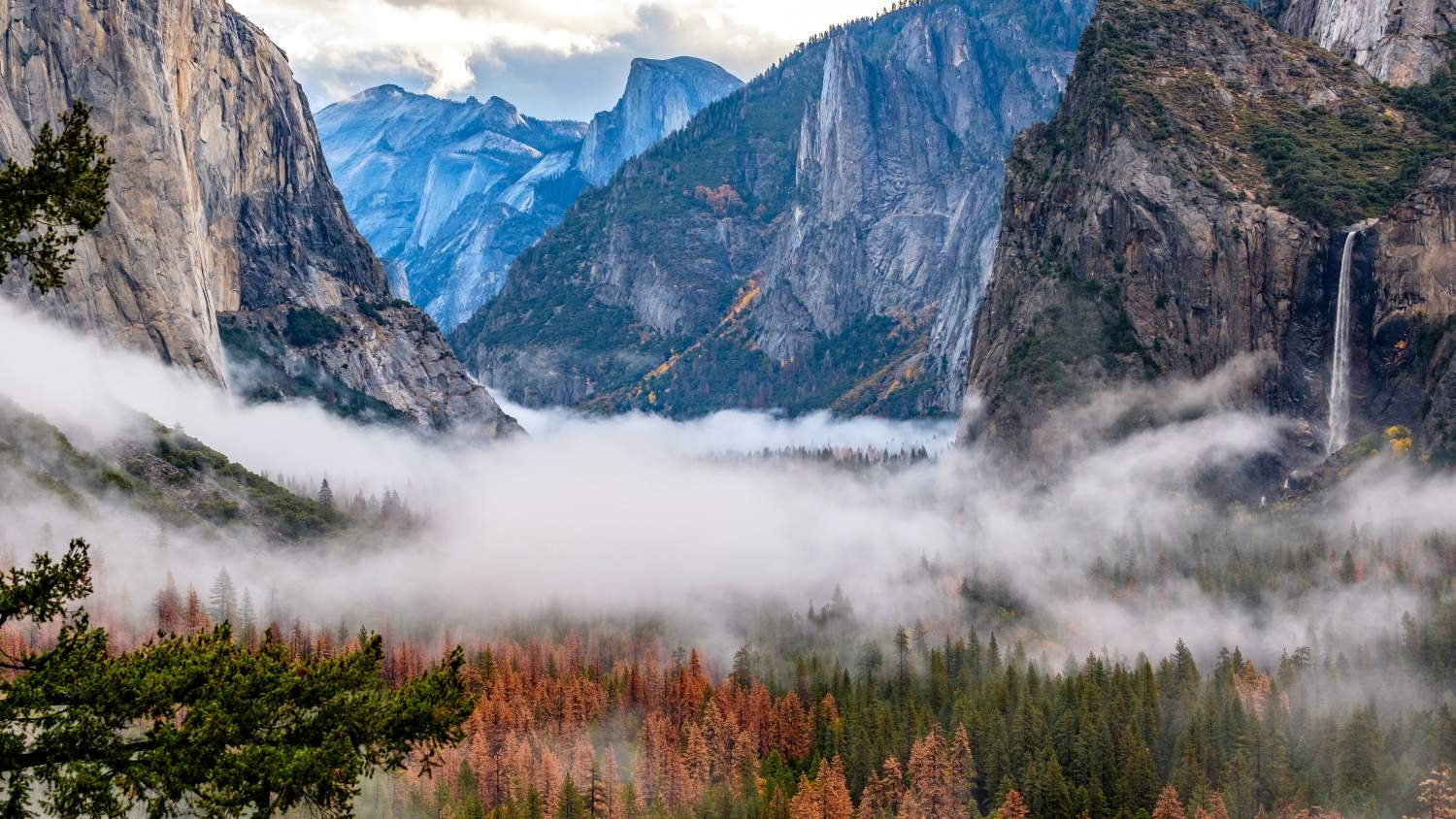 Autumn at Yosemite Valley