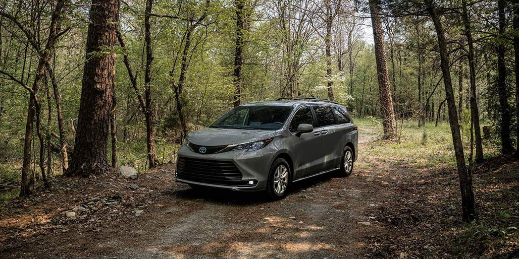 Toyota Sienna Woodland Special in a wooded scene