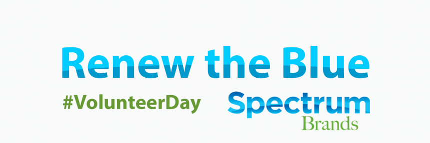 Renew the Blue #VolunteerDay Spectrum Brands