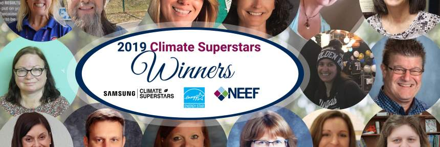 2019 Climate Superstars Winners