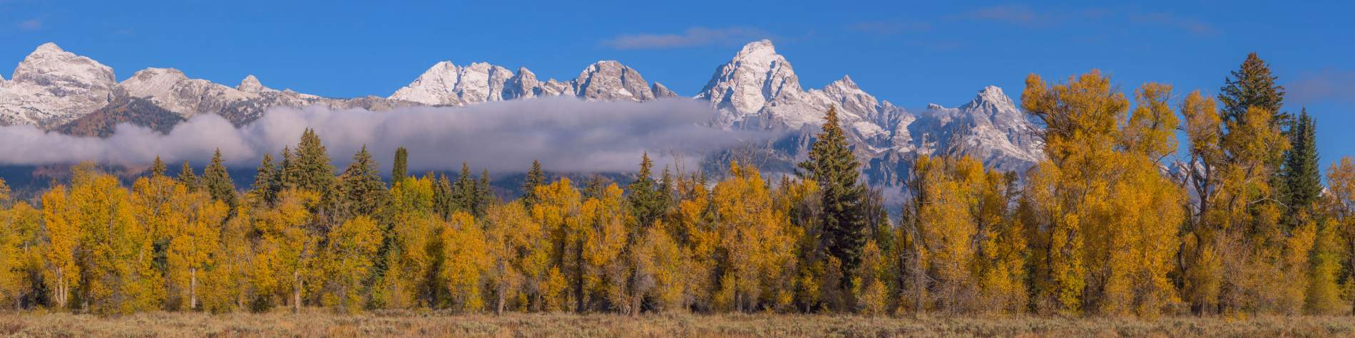 Grand Teton Mountain Range, Wyoming