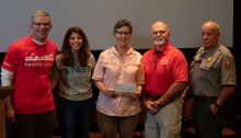 NEEF and Toyota giving $30,000 grant to the Big Thicket Natural Heritage Trust in Kountz, Texas