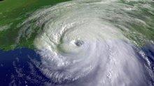 Satellite imagery of Hurricane Katrina